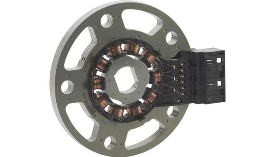 Drehwinkelsensor von Minebea für den Nissan Leaf entwickelt.