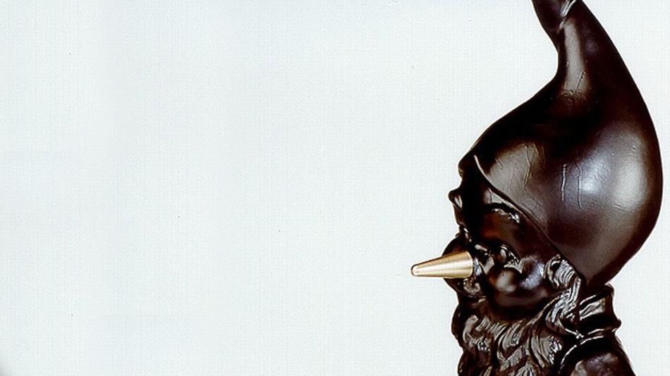Seit 1977 wird der Plagiarius, der Zwerg mit der goldenen Nase, an Hersteller und Händler besonders dreister Nachahmungen und Fälschungen vergeben.