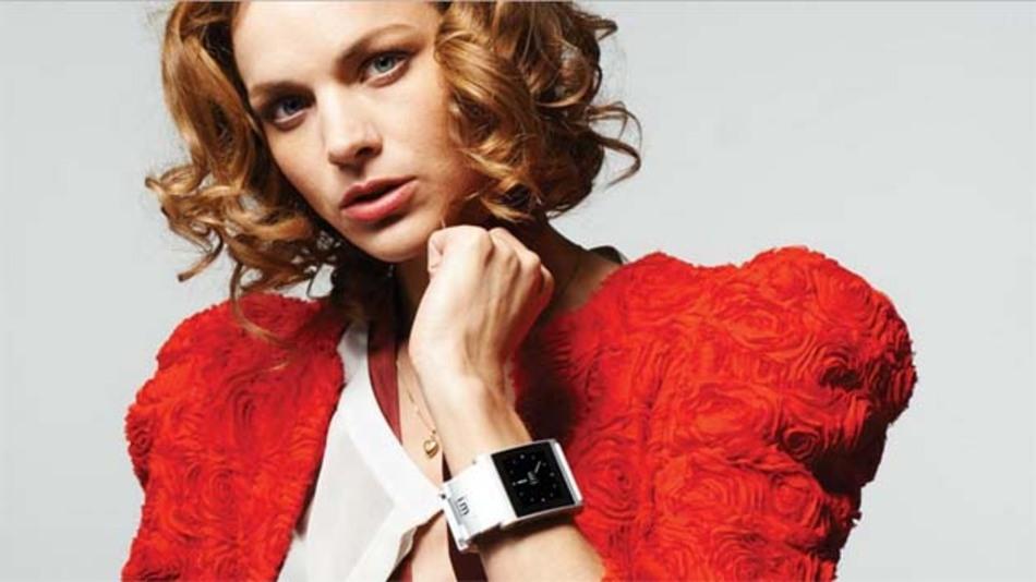 Via Bluetooth kommuniziert die I'm Watch mit dem zugehörigen iPhone oder Android-Gerät