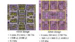 Die unterschiedlichen CP-Chips im Vergleich.