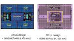 Vergleich der verschiedenen SC-Chips.