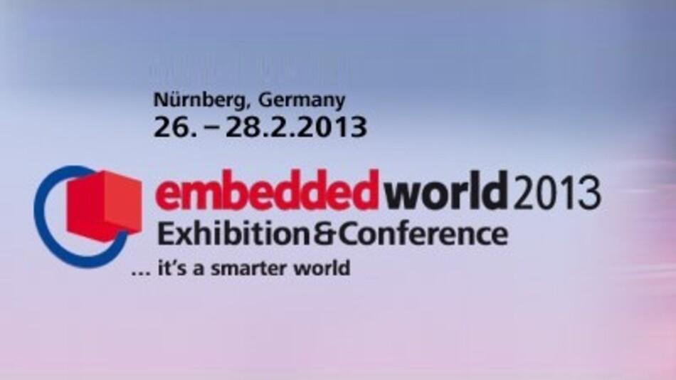 Die embedded world 2013 findet vim 16. - 28.Februar in Nürnberg statt.