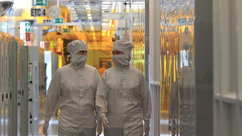 Infineon-Reinraum in Villach