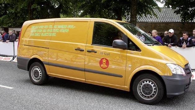 Die dänische Post fährt elektrisch mit dem Mercedes-Benz Vito E-Cell.