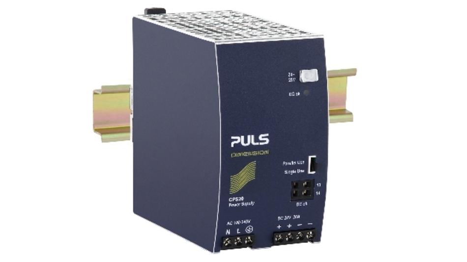 Gerade einmal 65 mm breit ist das 480-W-Netzteil »Dimension CPS20«