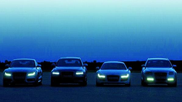 Scheinwerfer prägen die Optik eines Fahrzeuges