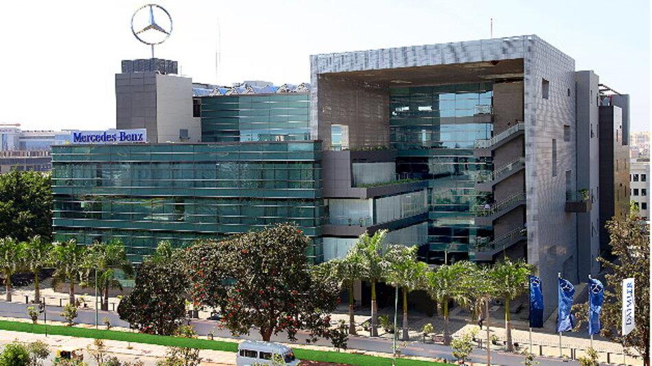 Der neue Mercedes-Benz Forschungs- und Entwicklungsstandort in Bangalore, Indien.