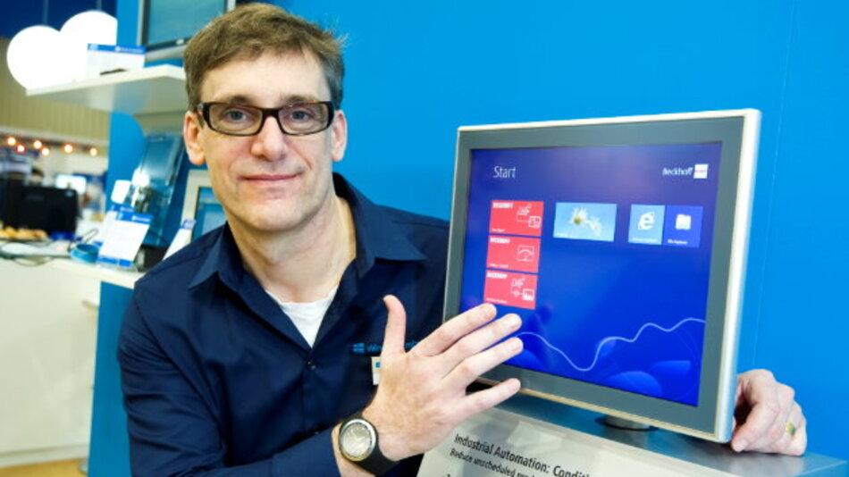 Gleich zwei neue Windows-Versionen zeigt Microsoft auf der embedded world 2013.