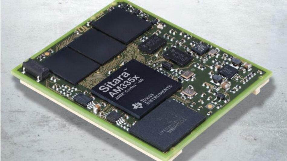 Für das »TQMa335«-Modul nutzt TQ erstmals einen Prozessor von Texas Instruments.
