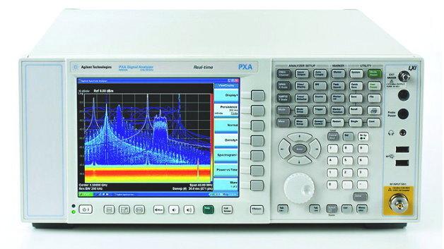Der Signalanalysator Agilent PXA lässt sich zum Spektrumanalysator erweitern - mit beachtlichen Leistungsdaten.