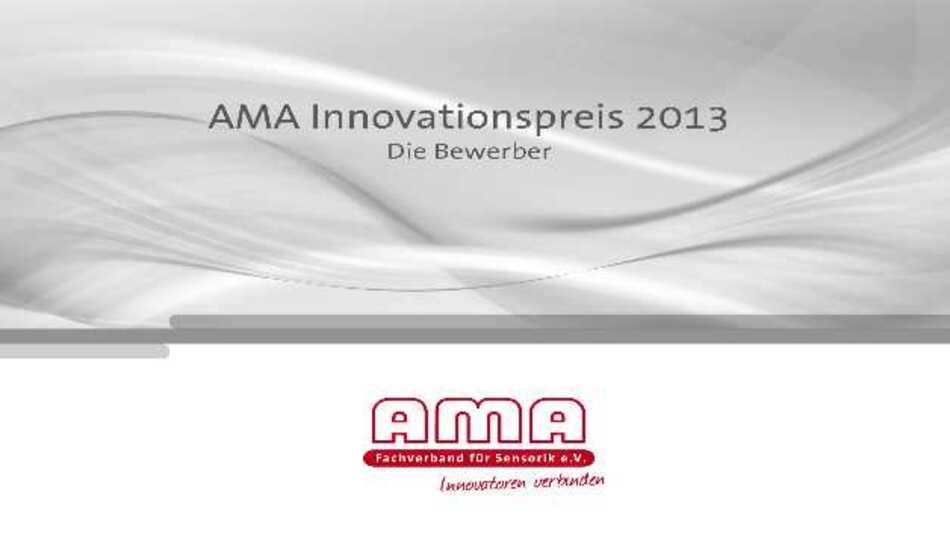 Die Broschüre »AMA Innovationspreis 2013 – Die Bewerber« mit allen eingereichten Innovationen gibt es im Internet zum Download unter:   http://ftp.ama-sensorik.de/Broschuere_Innovationspreis2013/AMA_Innovationspreis2013_Bewerber.pdf