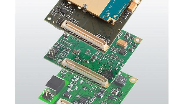 Leicht zu integrieren sind die Embedded-Router-Module der Serie QLM von Insys icom.