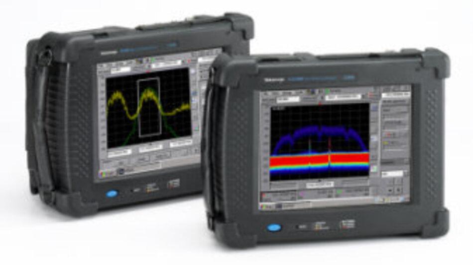 Tragbare Spektrumanalysatoren der H500/SA2500-Serie