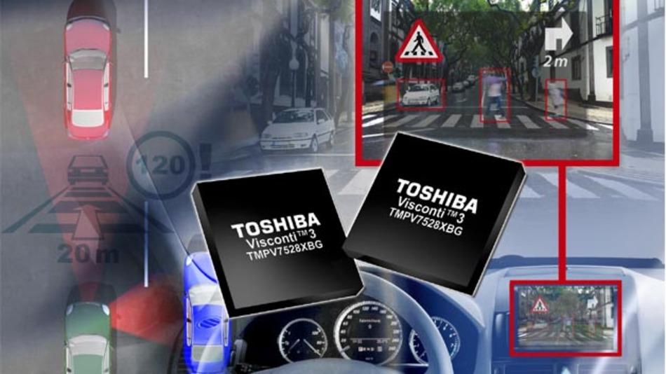 Toshiba Electronics Europe hat mit der Visconti3-Serie seine Bilderkennungsprozessoren ergänzt.