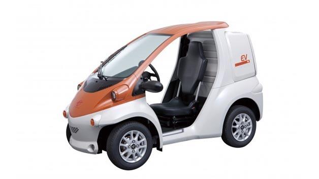 Der Zweisitzer i-ROAD ist eines der Modelle, das Toyota zum Carsharing-Projekt in Grenoble zur Verfügung stellt.