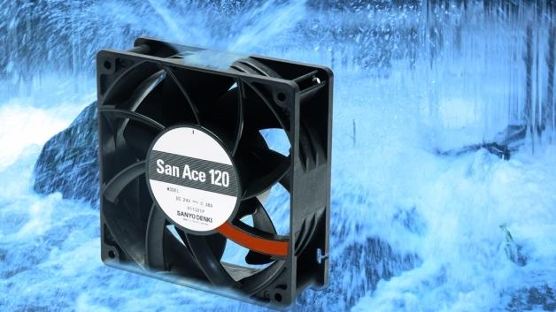 Die Lüfter der 9WV-Serie sind mit einer Spannung von 48 V(DC) verfügbar