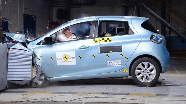 Erhielt 5 Sterne beim Euro-NCAP-Crashtest.