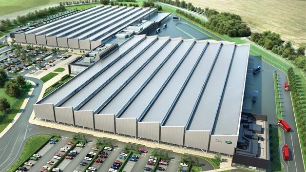 Soll noch 2013 eröffnet werden: das neue Motorenwerk von Jaguar Land Rover.