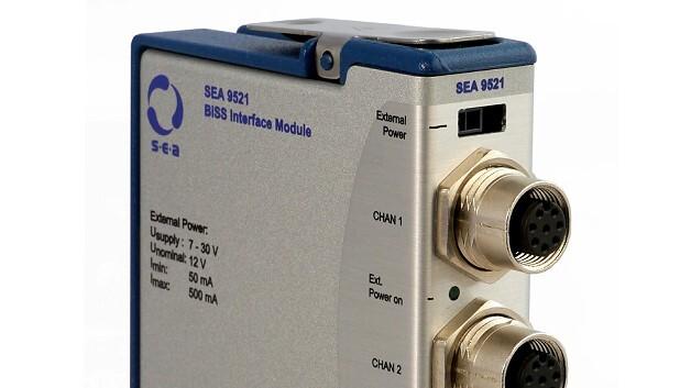 Über drei parallele Ports verfügt das BiSS-Interface-Modul SEA 9521 von S.E.A. Datentechnik.