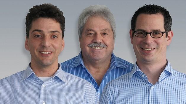 Ernst Rauscher tritt in den Hintergrund: Das neue Führungsteam umfasst außer ihm (Mitte) Thomas Miller (links) und Raoul Kimmelmann (rechts).