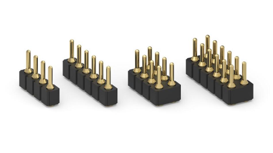 Der größere Kontakt-Durchmesser erhöht die Stabilität der neuen Steckverbinder von Mill-Max.