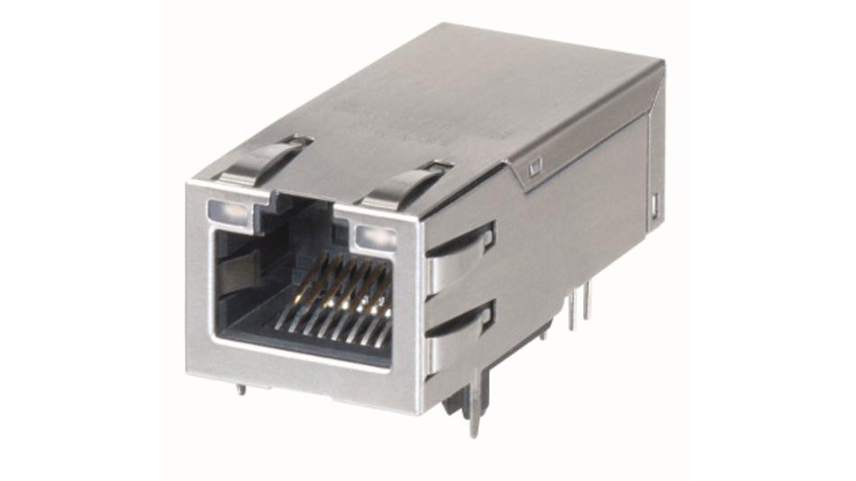 Die einbaufertigen PDJack-Buchsen von Molex vereinfachen die Implelmentierung von PoE Plus in passenden Endgeräten.