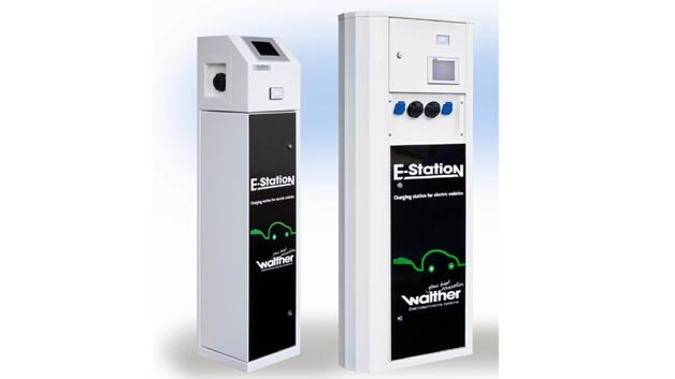 Modulare aufgebaute Ladesäulen: Ecolectra 320plus und Voltanea 600.