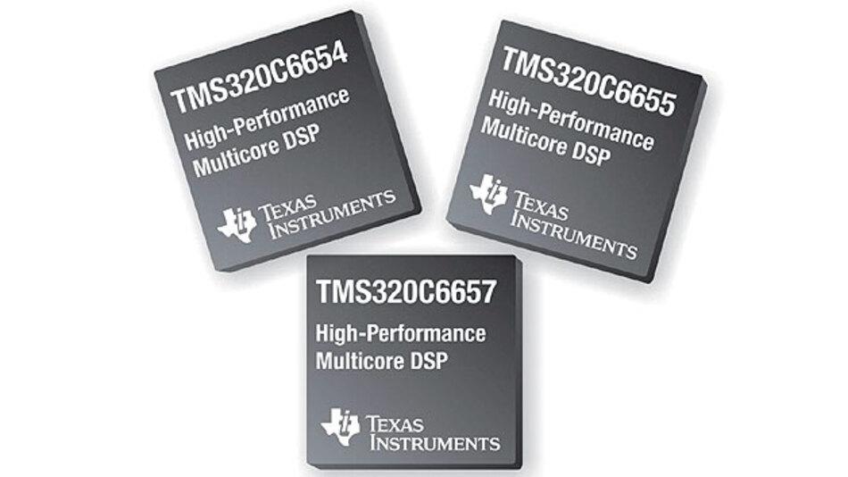 Bild 2. Mit Prozessoren auf Basis der DSP-Generation TMS320C66x adressiert Texas Instruments den hochinteressanten Markt von High-Speed-Übertragungen für regionale Netze und Cognitive-Radio-Anwendungen