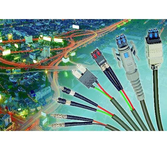 Bild 2: Datenverbindungen mittels Lichtwellenleiter nehmen zu - für die immer schneller werdenden Datenkommunikationsnetze bieten sie viele Vorteile