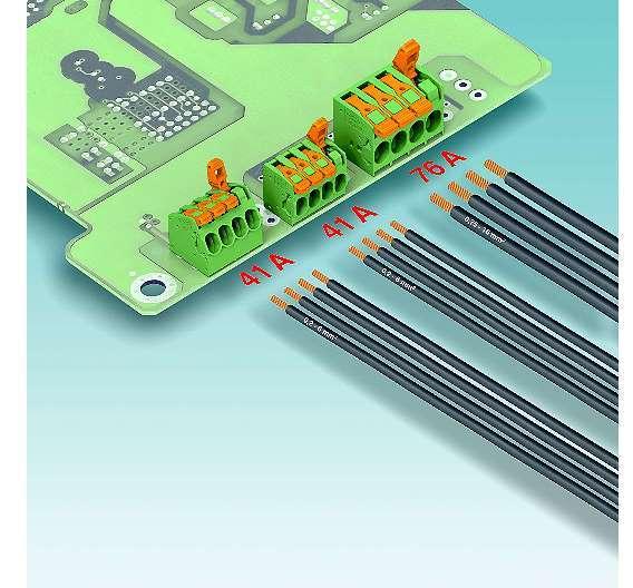 Bild 3: Schnell, kostengünstig, komfortabel, intuitiv bedienbar - diese Anforderungen erfüllen die Leiterplatten-Anschlussklemmen der »PL«-Serie