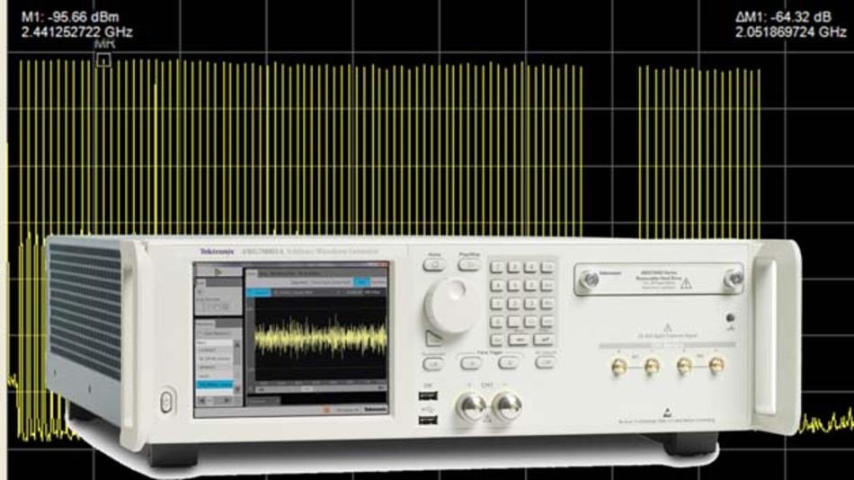 50 GS/s Abtastrate und 10 bit Auflösung sind nur zwei Eckdaten der neuen Arbiträrgenerator-Serie AWG70000.