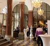 Im Foyer des Rilano No.6 fand zunächst ein Empfang mit Flying Buffet für die Preisträger statt.