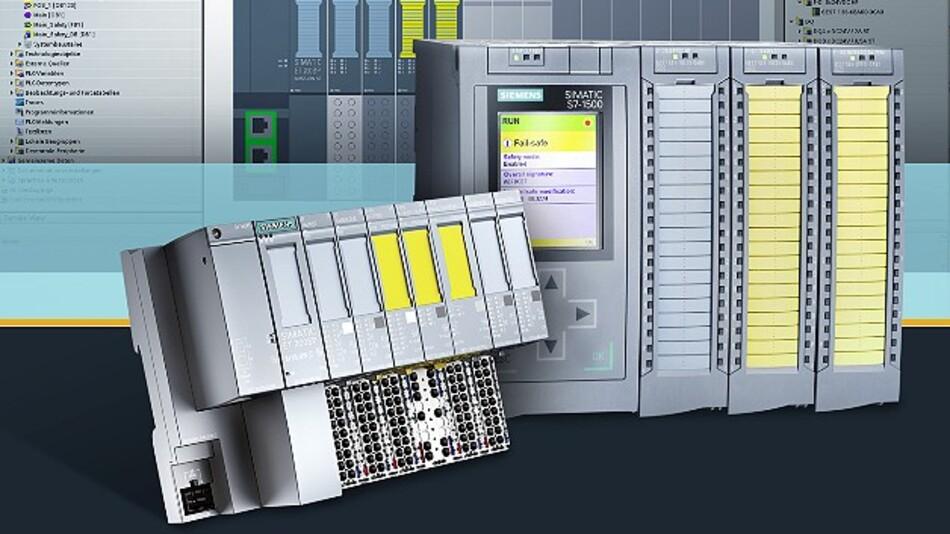 Siemens hat die »Simatic-S7-1500«-Controller und die dezentrale Peripherie ET 200SP sowie das Engineering-Framework »TIA Portal V12« um Safety-Funktionen ergänzt.