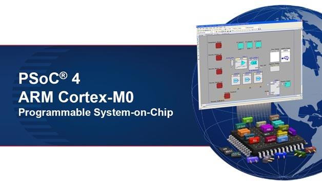 Die PSoC-Bausteine von Cypress gibt es jetzt auch mit ARM Cortex-M0-Kern.