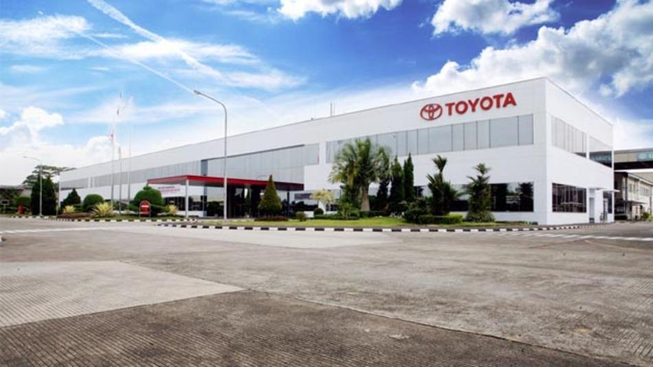 In Karawang, Indonesien, hat Toyota ein zweites Automobilwerk eröffnet.