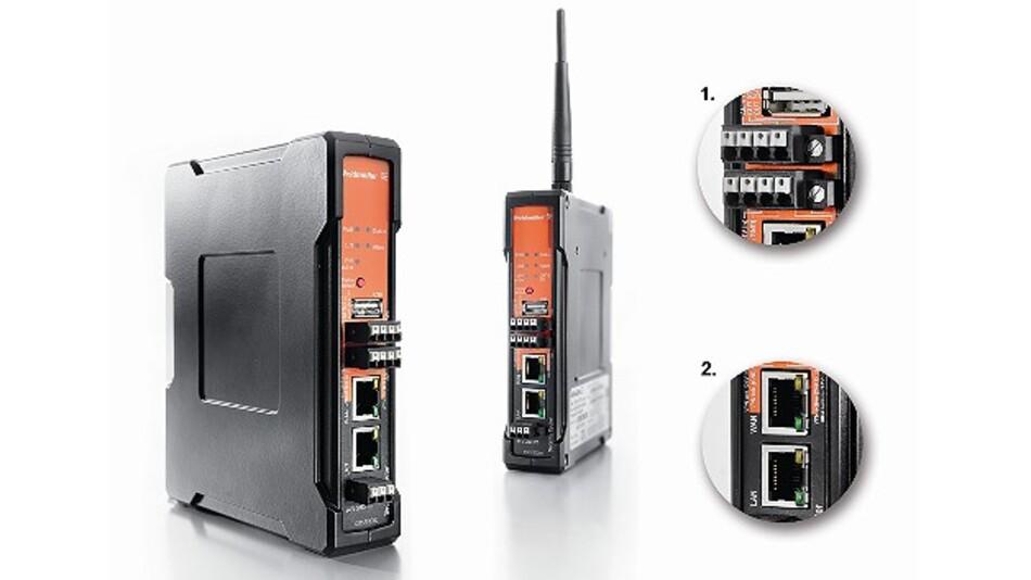 Der neue Gigabit-Security-Router von Weidmüller