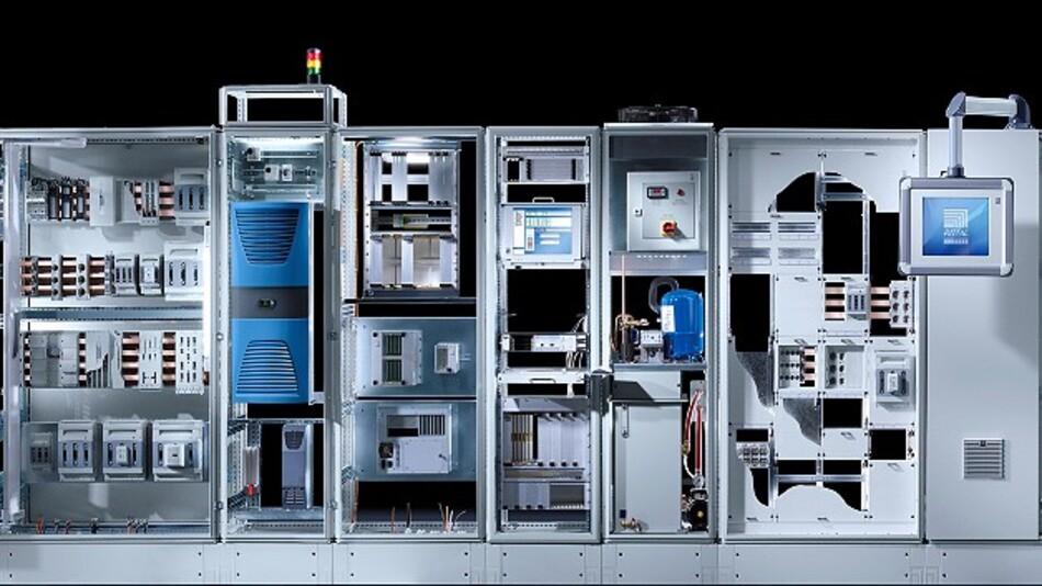 »RiMatrix S« von Rittal ist ein Konzept für einen vollständig standardisierten Rechenzentrumsbau.