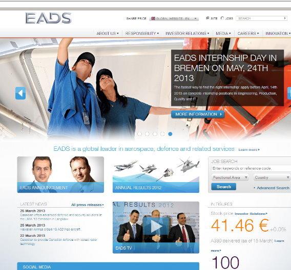 Der EADS Internship Day am 24. Mai 2013 in Bremen richtet sich an alle Studierenden, die auf der Suche nach einem drei- bis sechsmonatigen Praktikum sind.