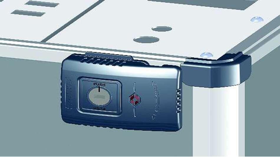 Bild 1: Neuartige Schlösser erlauben bei der neuen Gehäuseserie »S4000« von Santox den barrierefreien Zugang und diverse Schließsysteme