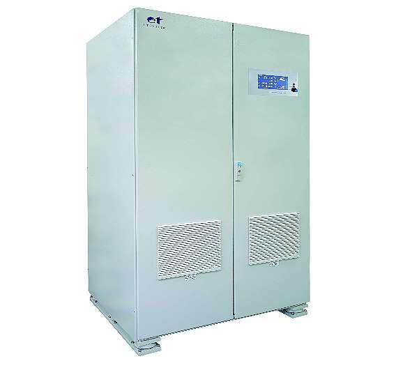 Bild 1: Mit den rückspeisefähigen AC/DC-Wandlern der Baureihe »LAB/SL« von ET System electronic lassen sich zum Beispiel Hybridmotorsysteme testen