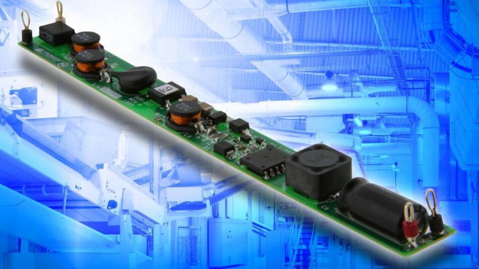 Referenzdesign für den Aufbau einer LED-Lösung für den Ersatz der einer T8-Leuchtstoffröhre.