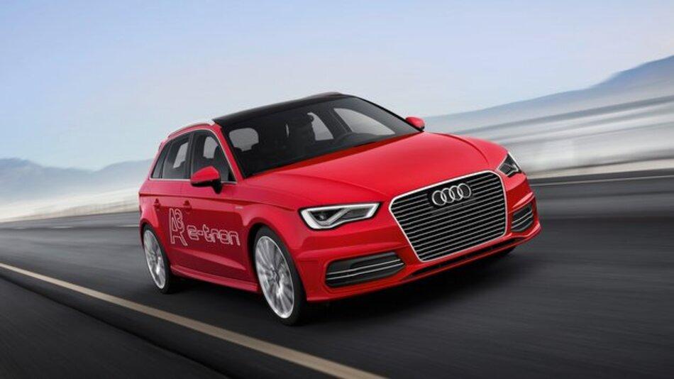 Wichtigster Vertreter der neuen Hybridstrategie: der Audi A3 Sportback e-tron.