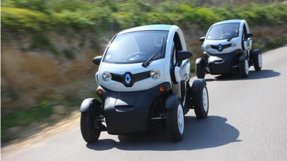 Renault beteiligt sich mit fünf Twizy am Carsharing-Projekt Ruhrauto-E im Ruhrgebiet.