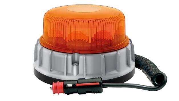 Ein integrierter Lichtsensor passt die Helligkeit der Leuchte automatisch an Umgebungslicht an.