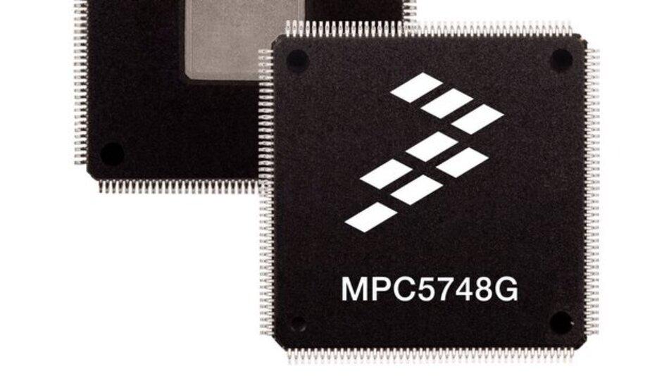 Mikrocontroller Qorivva MPC5748G von Freescale.