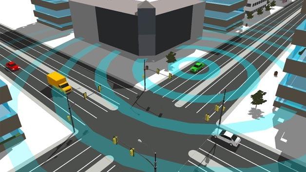 NXP unterzeichnet Absichtserklärung zur Car-to-Car-Kommunikation.
