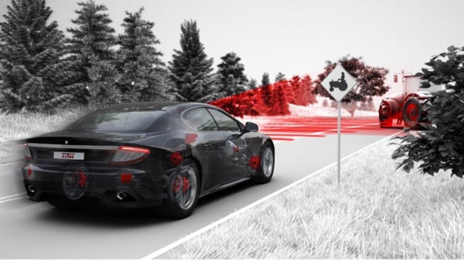 Kamerasensor von TRW sorgt für hohe Fahrzeugsicherheit.