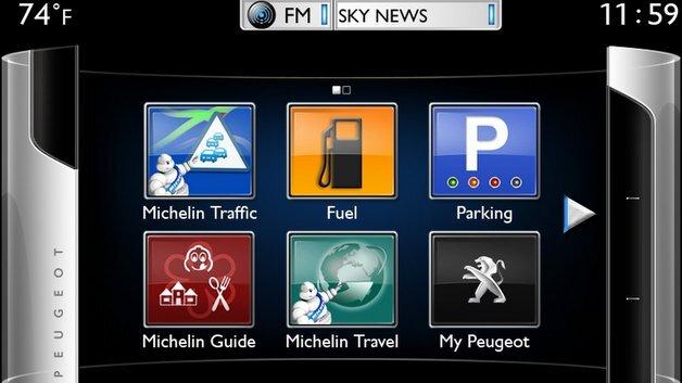 Connect Apps von Peugeot.