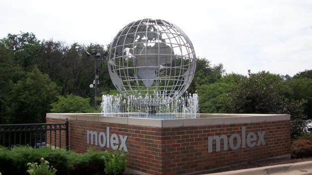 Das Haedquarter von Molex in Illinois