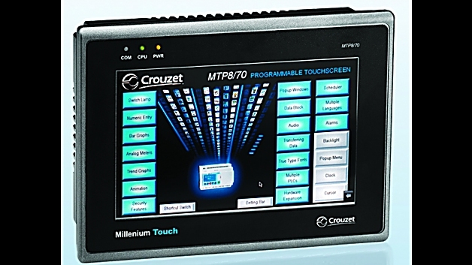Neue programmierbare Grafik-Touchscreens